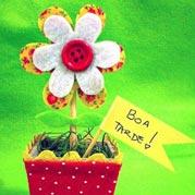Mini vaso flor