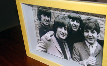 Quadro do Beatles