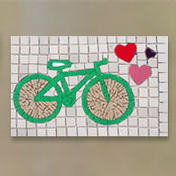 Bike Verde 3 Corações